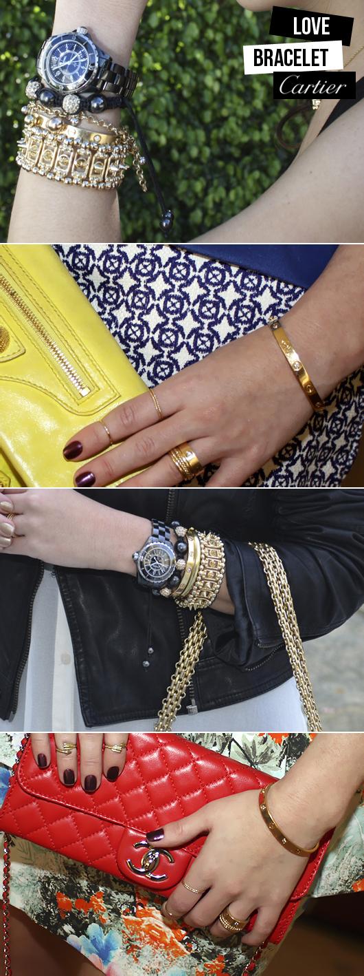 079807add66 Esse bracelete faz parte da linha  Love  da Cartier