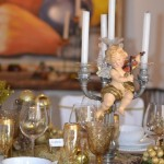 Idéias para Decorar a Mesa de Natal – Dourado