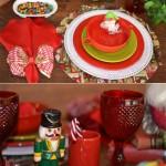 Idéias para Decorar a Mesa de Natal: Crianças!