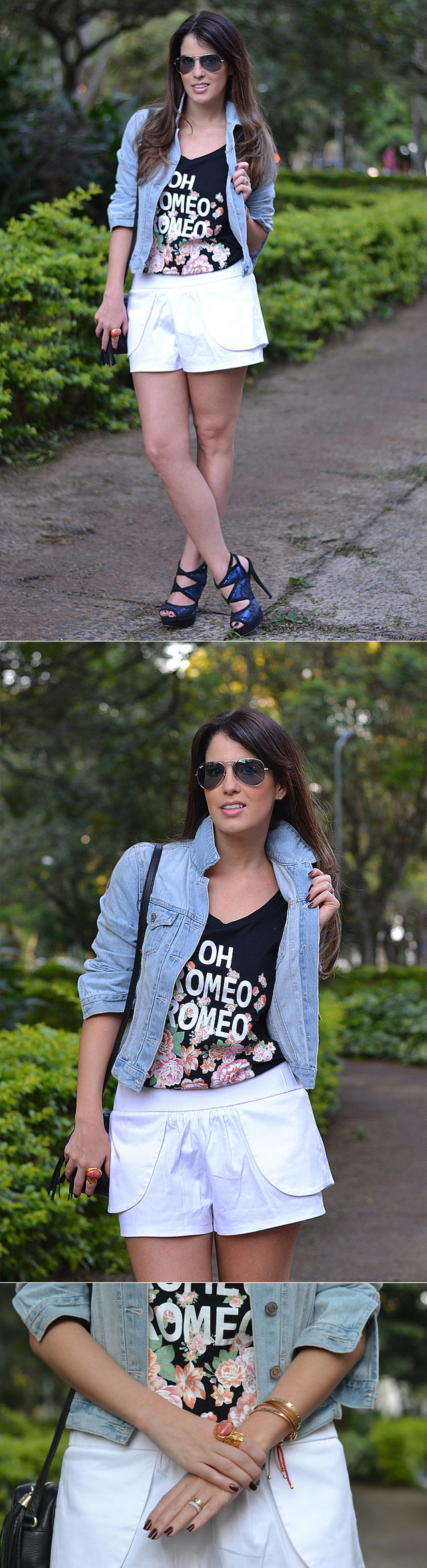 Look do dia: Short branco no Final de Semana
