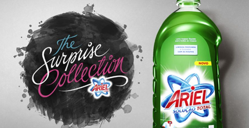 Prêmio Surprise Collection da Ariel premiado em Cannes!