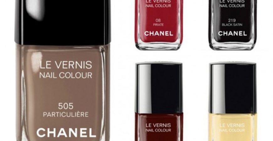 Esmaltes: os clássicos da Chanel
