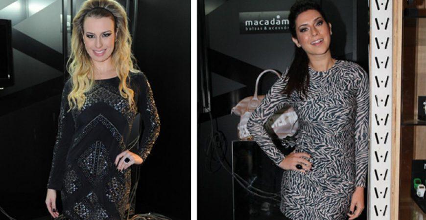 Batalha de looks: Fernanda Keulla ou Fernanda Paes Leme?