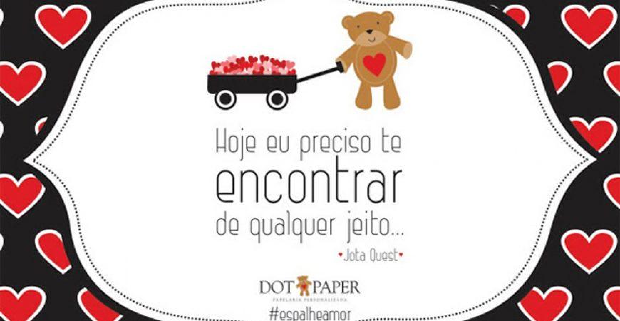 Espalhe amor by Dot Paper