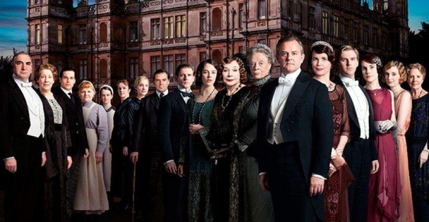 O figurino de Downton Abbey
