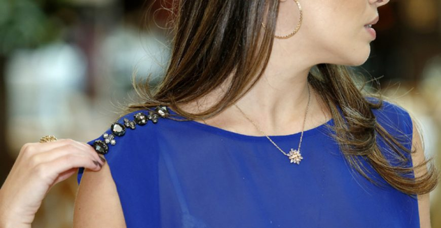 Look do dia: Azul royal + Avanzzo