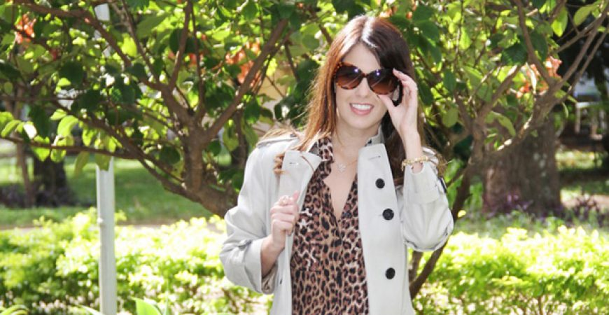 Look do Dia: Trench Coat Burberry