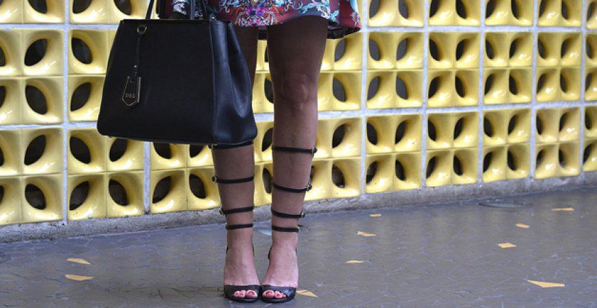 Look do Dia: Sandália Gladiadora Miezko
