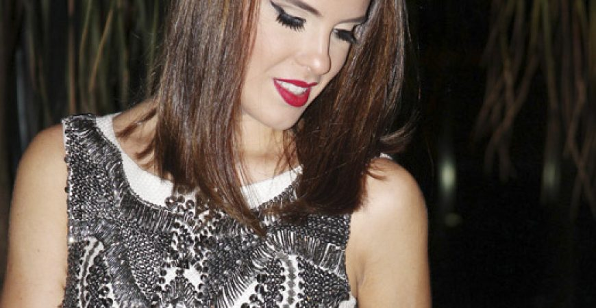 Look do Dia – Vestido Branco Aniversário Thassia Naves