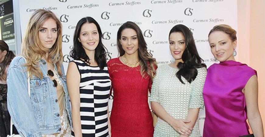 A Inauguração da Carmen Steffens em Cannes