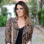 Look do Dia: Onça + Couro
