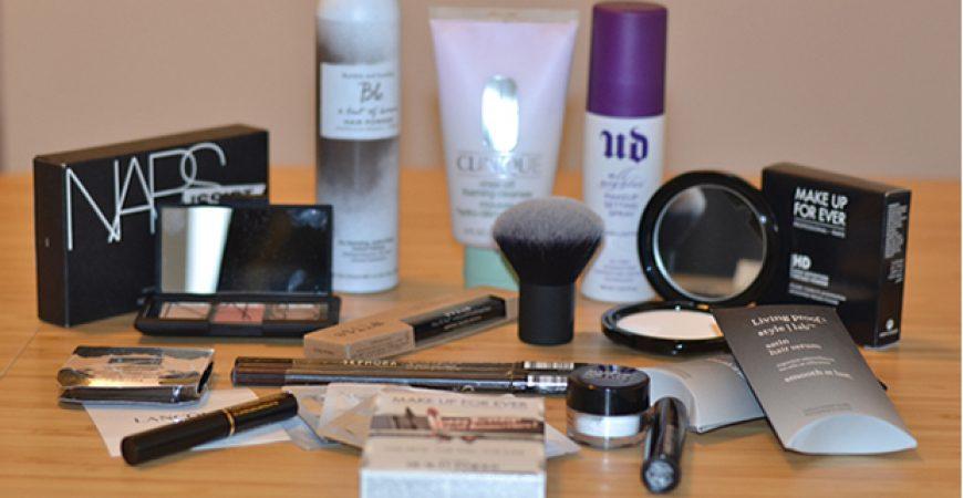 Comprinhas e novidades de maquiagem em Nova Iorque