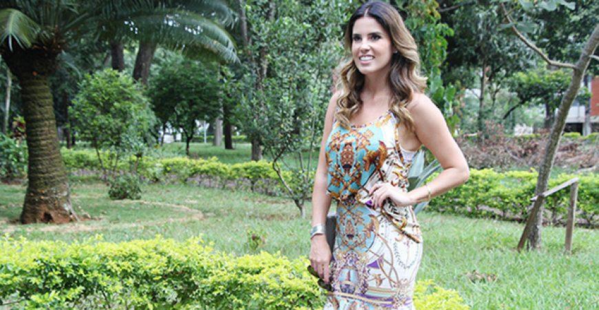 Look do Dia: Conjunto Tigresse + Salto Carmen Steffens