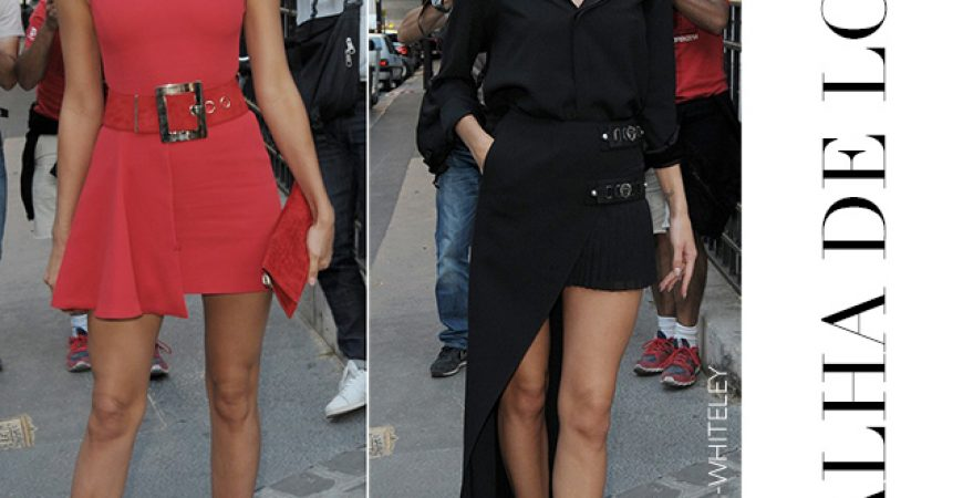 Batalha de Looks Irina Shayk & Rosie Huntington-Whiteley