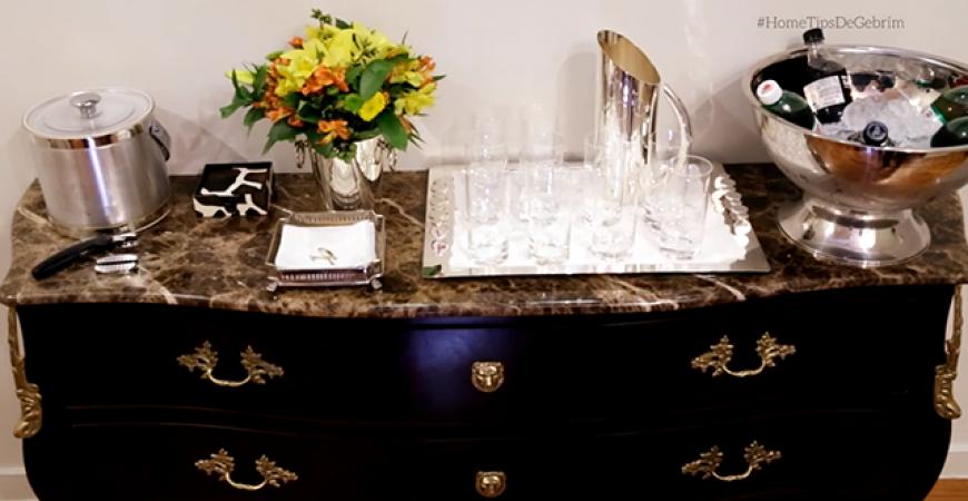 Video – Home Tips – Aparador de Bebidas
