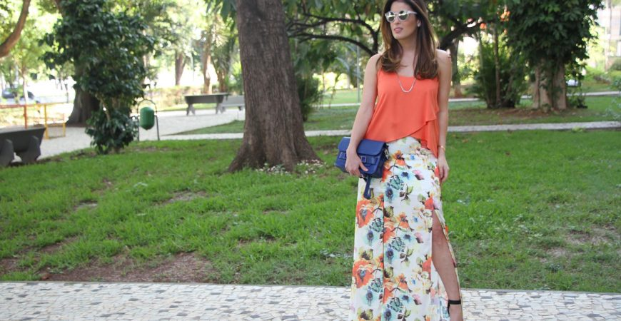 Look do Dia – Laranja + Fendas