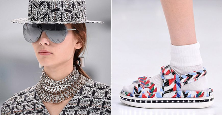 Os Acessórios do Desfile de Verão 2016 da Chanel