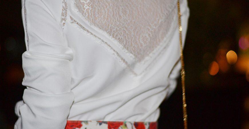 Look do Dia: Macacão Branco Carol Bassi