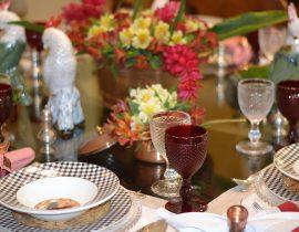 Decoração: Mesa de Almoço Surpresa 70 anos