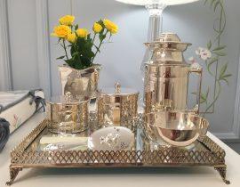 Kit Higiene em Prata da Maria Antônia!