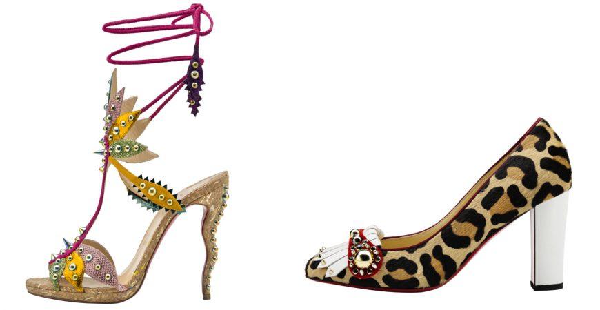 A Coleção de Christian Louboutin Inspirada no Carnaval!