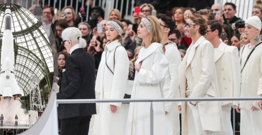 Chanel Inverno 2018: Uma Viagem ao Espaço e o Prata da Vez!