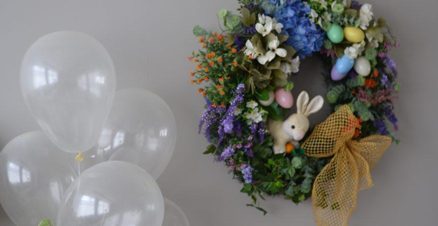 Mesversário 5 Meses: Temático com decoração de Páscoa!
