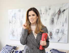 Look do Dia: Inverno com Blazer 80's