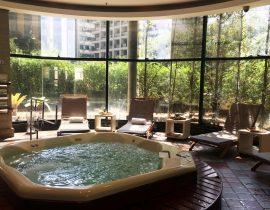 O Club Lounge do Renaissance São Paulo Hotel