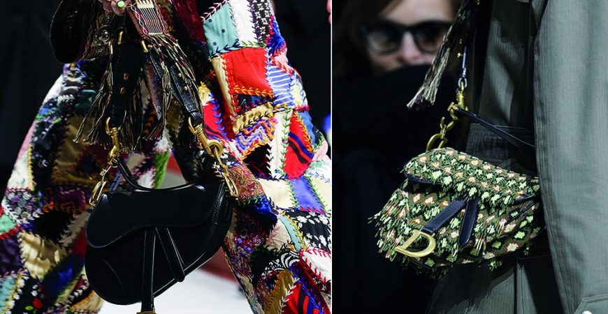 "O Retorno da ""Saddle Bag"" da Dior!"
